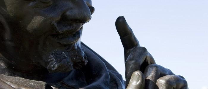 Falstaff's statue, Stratford upon Avon