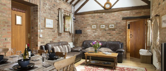 The Stables Cottage interior - Luxury self catering Stratford upon Avon